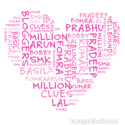 Word Mosaic Heart