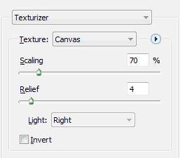 Texture menu