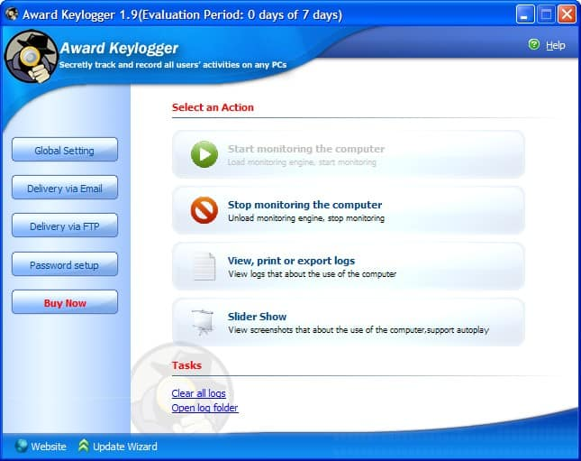 Award Keylogger Software