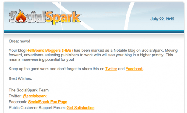 Social Spark HBB