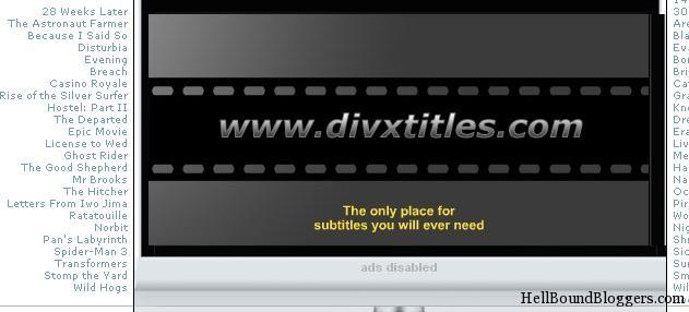 DivX Titles