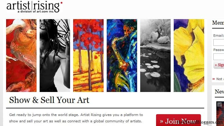 Artist Rising