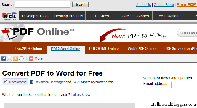 top 5 online places to convert pdf to word