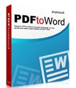 AnyBizSoft PDF to Word Convertor