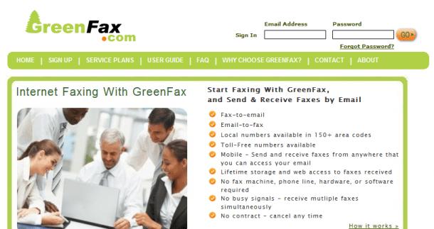 GreenFax