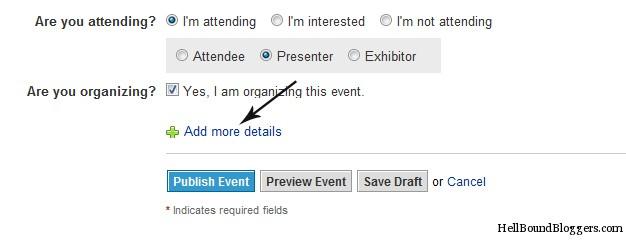 Linkedin Event - More Details