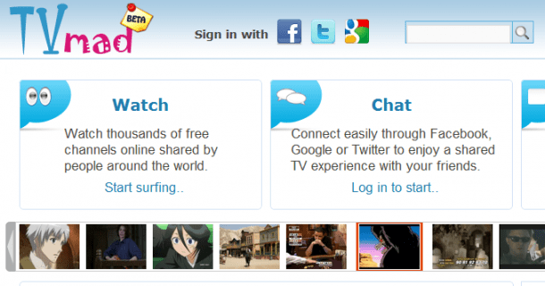 Watch Thousands Of Free Channels Online - TVmad