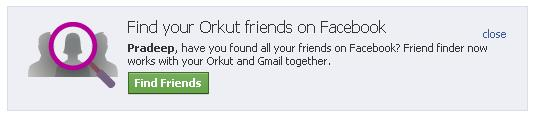 Find Orkut Friends