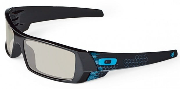 Oakley Tron 3D glasses