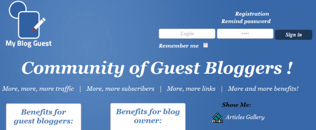 5+ Websites That Will Help You To Get Good Guest Bloggers