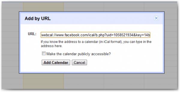 Add URL - GC