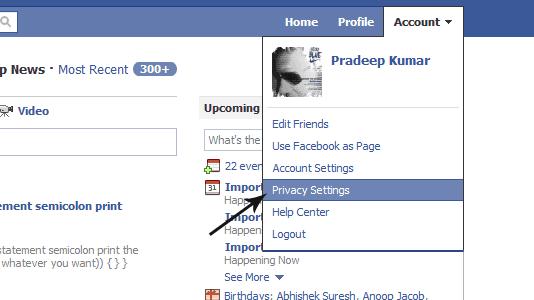 Privacy - FB