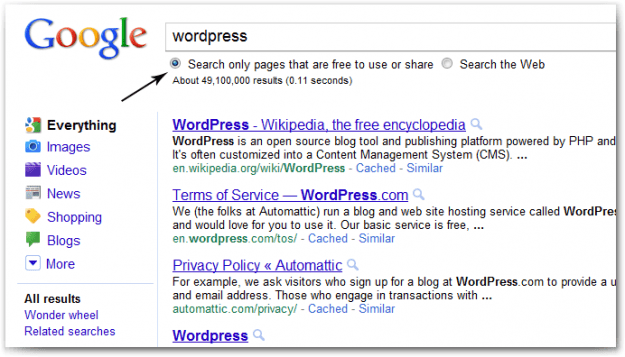 Google Search For WordPress