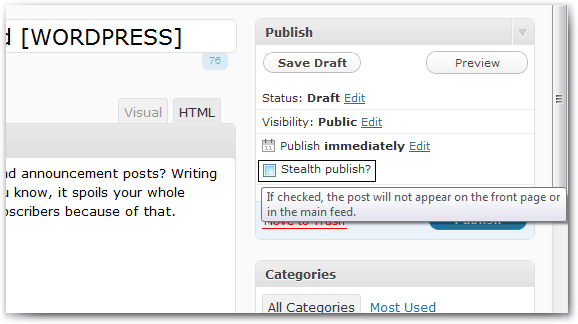 Stealth Publish