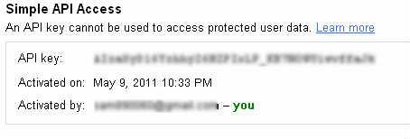 Simple API Access