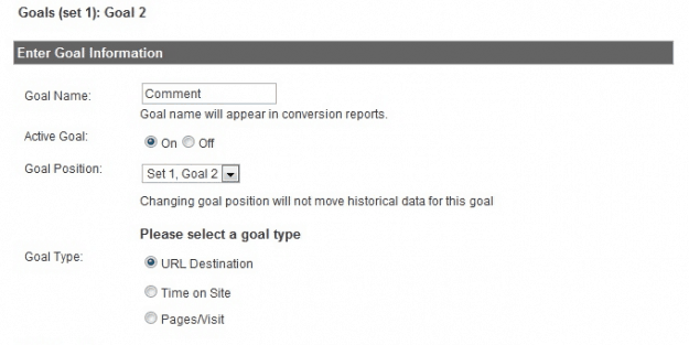 Google Analytics - Track Comments
