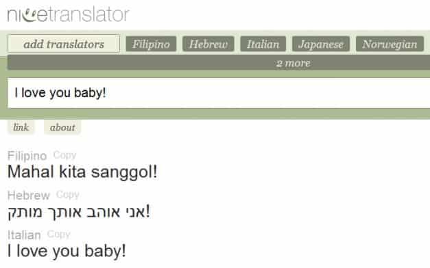 Nice Translator