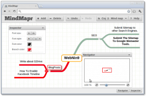 MindMapr Screenshot