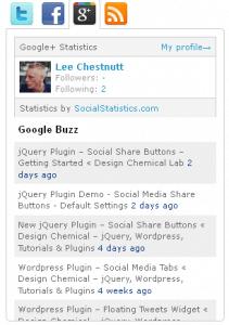 social media tab plugin