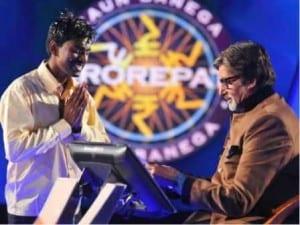 Sushil and Amitabh Bachchan