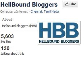 HBB Facebook Page status