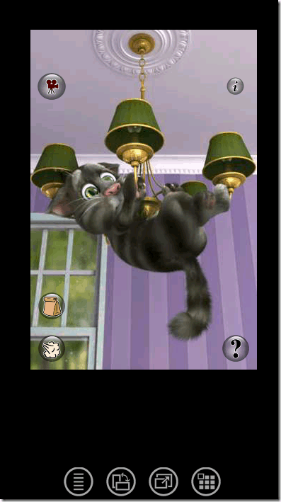 Running Talking Tom