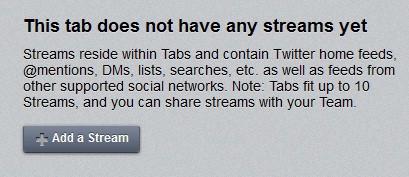 HootSuite - Stream