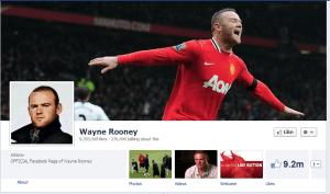 Wayne Rooney Facebook