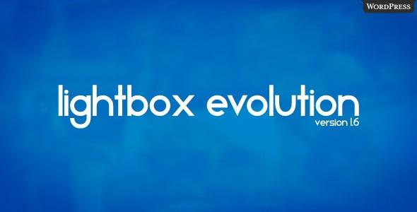 Lightbox Evolution for WordPress