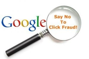 Say no to Google AdSense Click Fraud