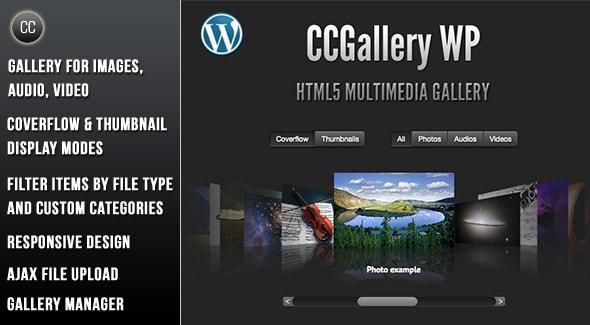 CCGallery WP - Multimedia WordPress Plugin