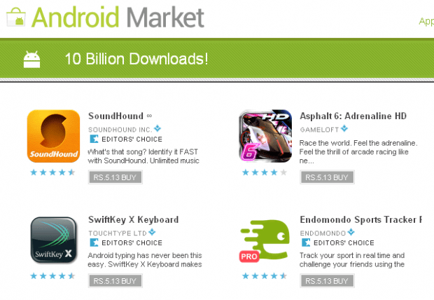 10 Billion Downloads