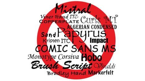 Use Stylized fonts