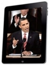 Obama Signing iPad