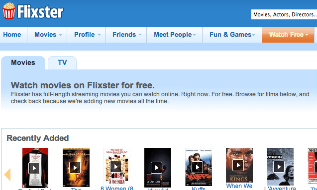 flixster movies