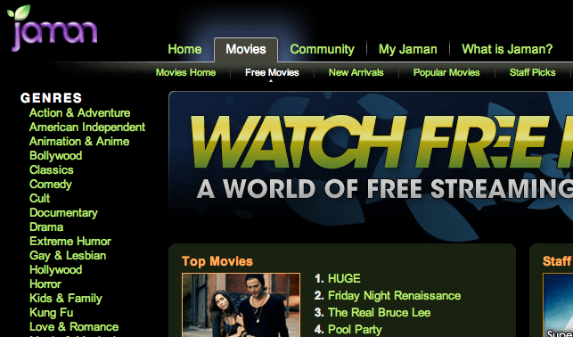 10+ Best Websites To Watch Free Movies Online
