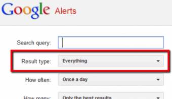 Google Alerts - Monitor