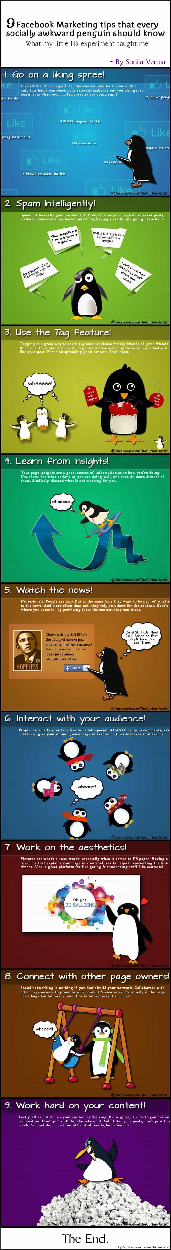 9 FB Marketing Tips