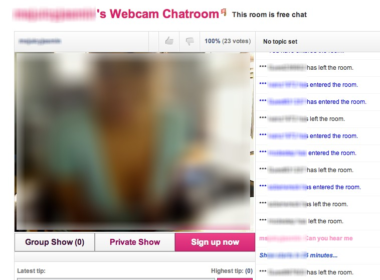cam chat girl