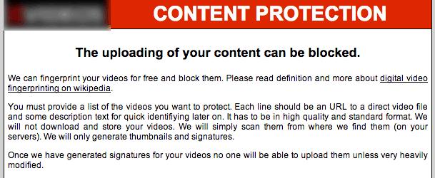 Content Protection Technique