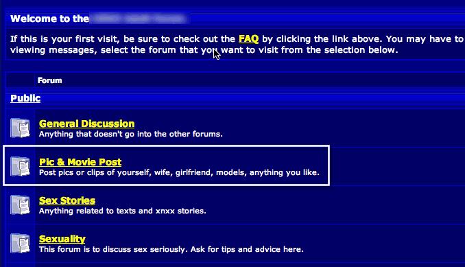 Forum Threads