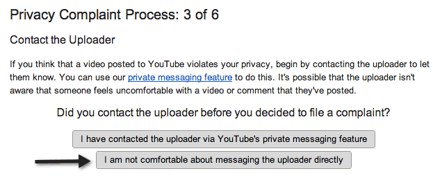 STEP 3: Contact The Uploader
