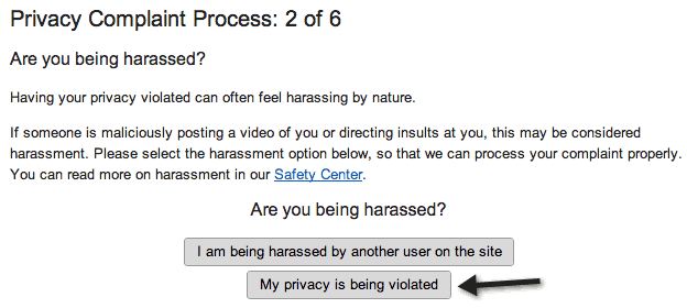 STEP 2: Are you Being Harassed?