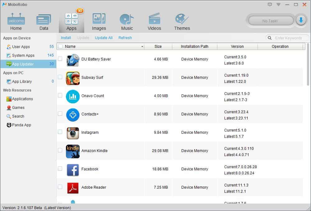 App Updator