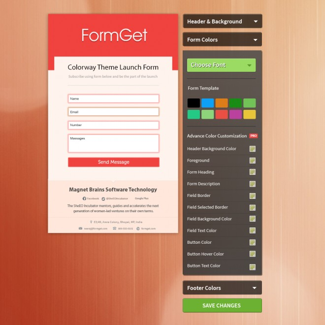 FormGet Form
