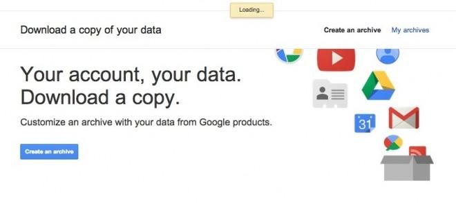Download Your Orkut Information