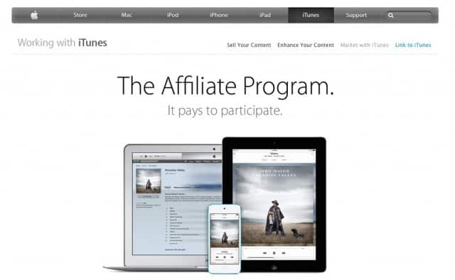 Apple iTunes Affiliates