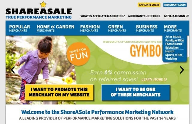 ShareASale Affiliates