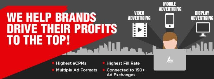 Adsnik Brands Profit