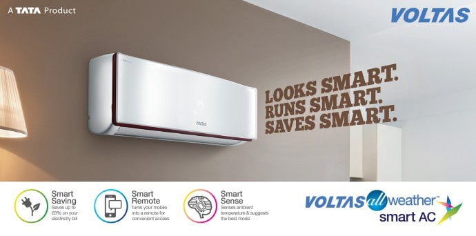 New Voltas All Weather Smart AC